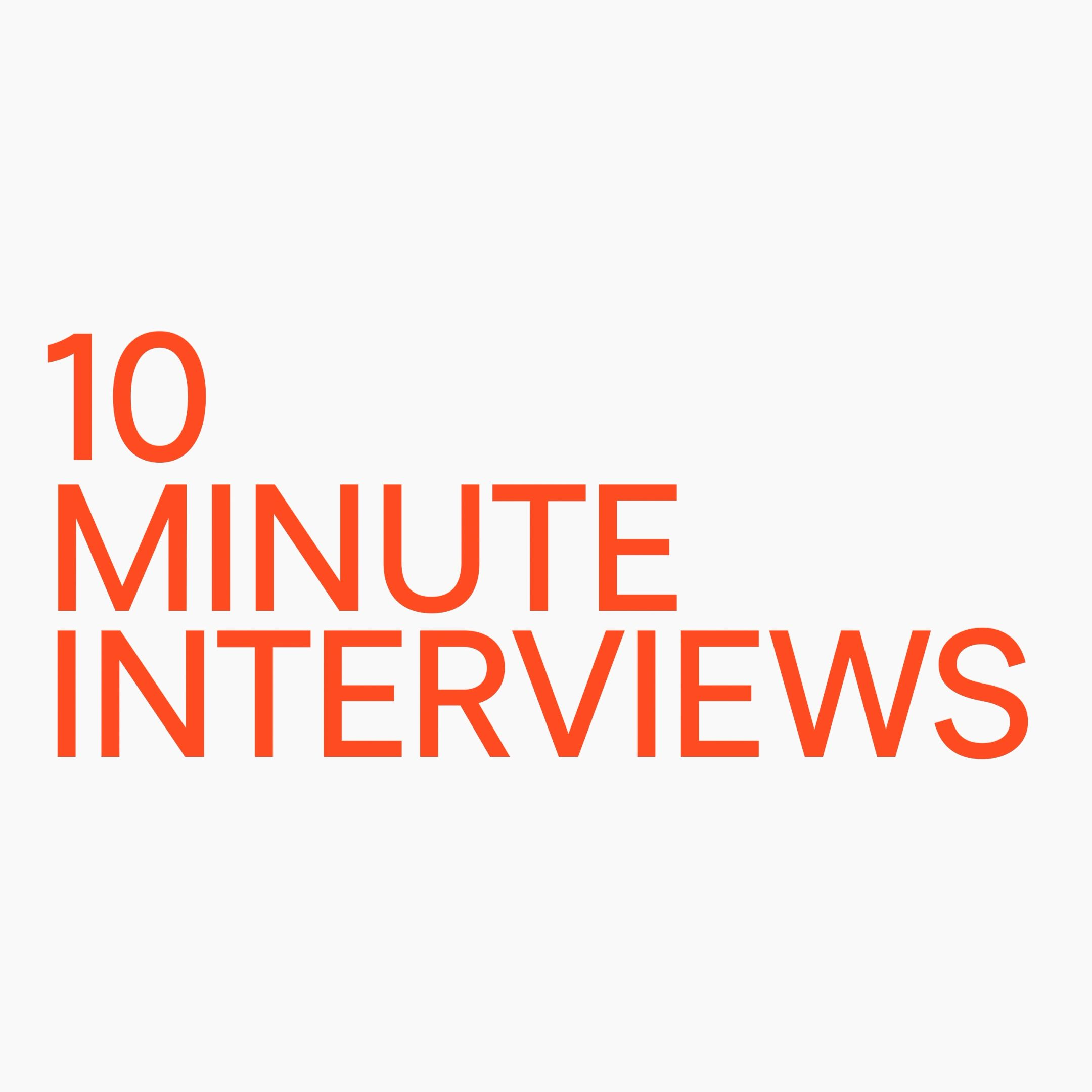 Open Space 10 minute interviews